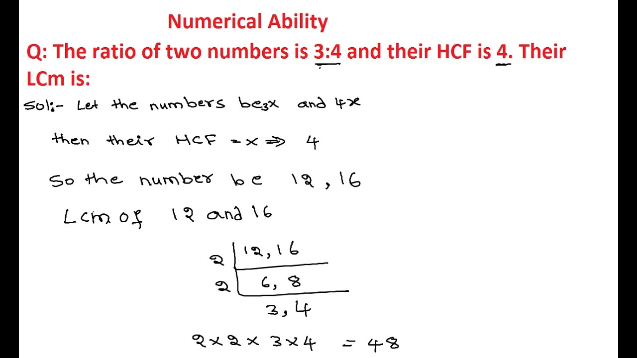 lcm and hcf In arithmetic and number theory, the least common multiple, lowest common  multiple, or smallest common multiple of two integers a and b, usually denoted by .