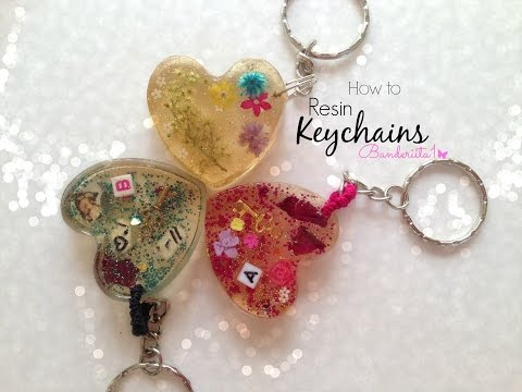 How To ♡ Resin Keychain