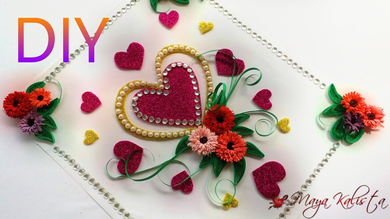 DIY Heart Greeting Cards For Birthday Easy Ideas Using