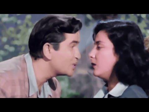 Jahan Main Jaati Hoon Wahi Chale Aate Ho - Hindi Romantic Song | Raj Kapoor | Nargis | Chori Chori |