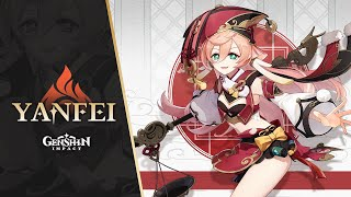 "New Character Demo - ""Yanfei: Legal Expertise"" 