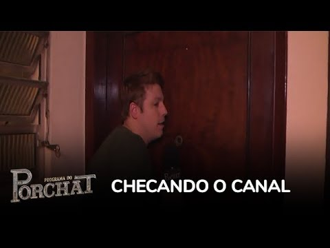 Porchat Surpreende Moradores Da Vila Mariana (SP) No Checando O Canal