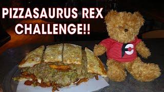 PIZZASAURUS REX CHEESESTEAK CHALLENGE!!