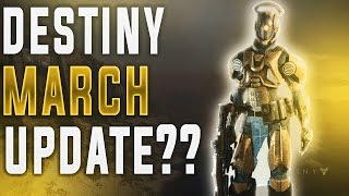 Destiny News! MORE NERFS AND MARCH ROADMAP TEASER! Iron Banner Returns (Next Destiny Update)