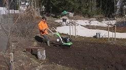Ohjeet maanmuokkaukseen puutarhajyrsimellä