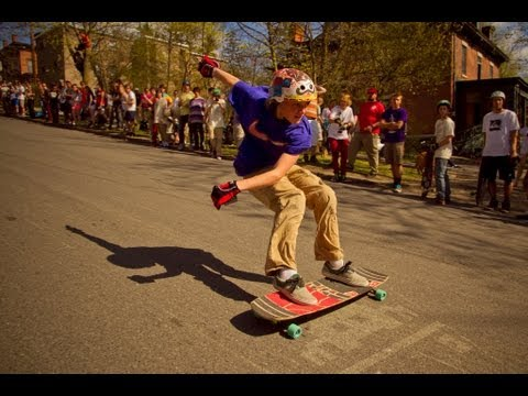 Skate Invaders x Comet Skateboards // Ithaca Slide Jam 2013