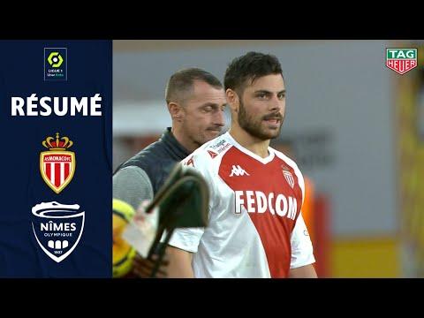 Goal Sofiane DIOP (19' - AS MONACO) AS MONACO - NÎMES OLYMPIQUE (3 ...