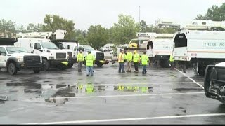 Utility Workers Mobilize to Restore Power