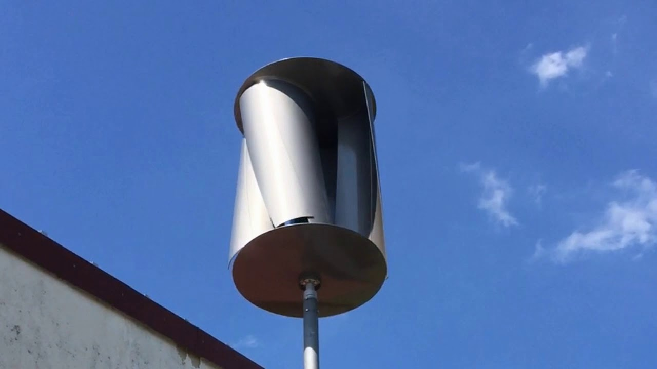 Helix Windturbine in Buhlendorf, Sachsen-Anhalt