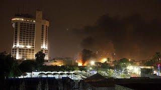 انفجار بمب در نزدیکی دو هتل مجلل بغداد