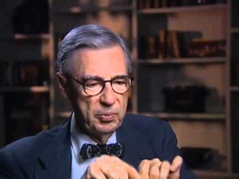 Fred Rogers On The Origins Of Mr Mcfeely And His Signature Sweaters Emmytvlegends Org Youtube