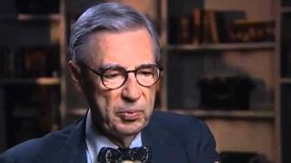 Fred Rogers on the origins of Mr McFeely and his signature sweaters - EMMYTVLEGENDS.ORG