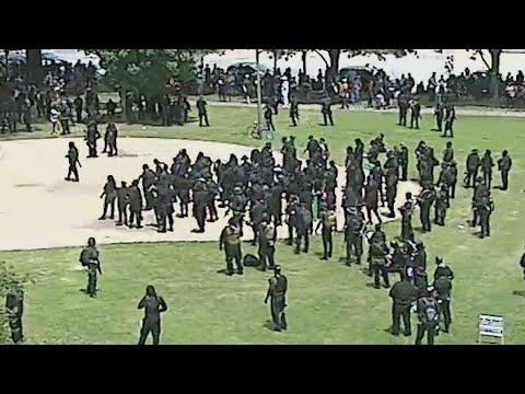 Police: Gun discharge negligent that injured 3 Black militia members ...