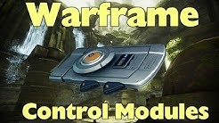 Warframe: How to get Control Modules