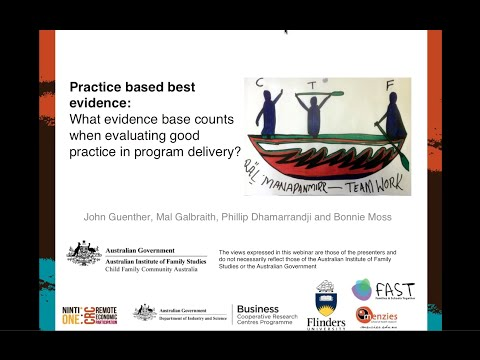 Webinar: Practice based best evidence
