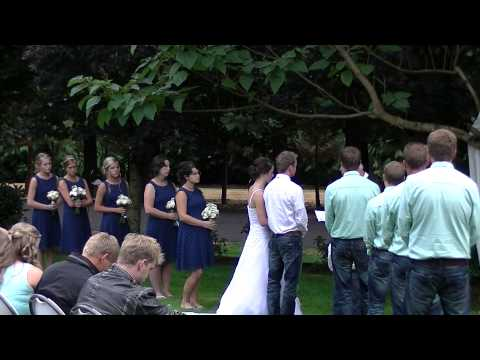Wedding of Logan and Renee Matson
