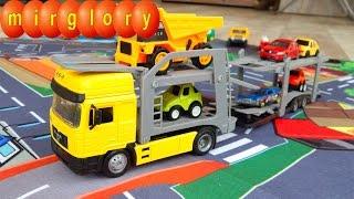 Машинки мультфильм про Автовоз: Учим цвета. Развивающие Мультики для детей mirglory