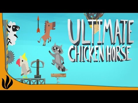 Ultimate Chicken Horse FR #4: LES RIRES CONTINUENT !