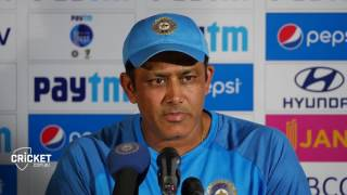 "Indian coach Kumble laments ""bad day"""