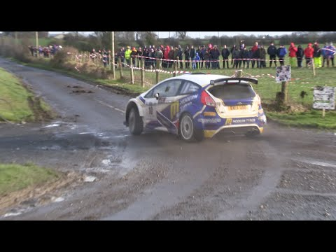 Alastair Fisher, Galway International Rally 2016, Ford Fiesta R5. (Flyin Finn Motorsport)