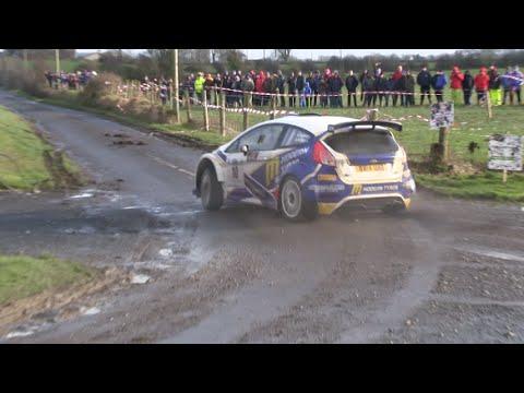Alastair Fisher, Galway International Rally 2016, Ford Fiesta R5. (Flyin Finn Motorsport)