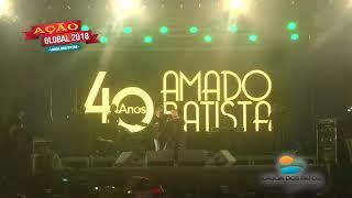 Amado Batista em ação global de lagoa dos Patos MG 2017 Video