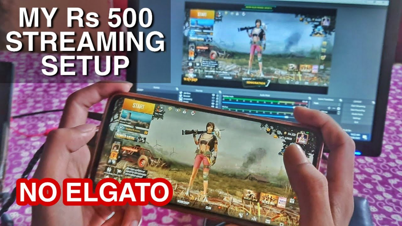 How I STREAM Without ELGATO || Budget STREAMING setup for  Beginers | Full explanation