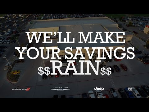 Make Your Savings Rain at Meador Dodge Chrysler Jeep Ram