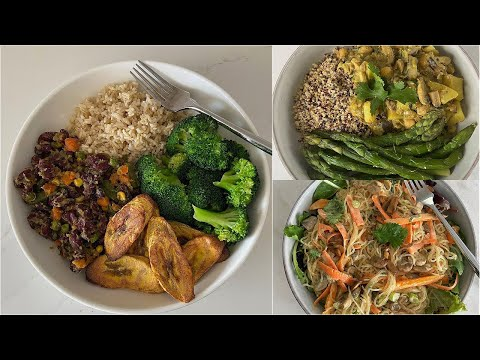 3 MUST TRY Meals I Eat each week | Easy & Healthy Recipes [Vegan]