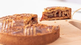 キャラメルくるみタルト:エンガディナーの作り方 Caramel Tart:Engadiner|HidaMari Cooking