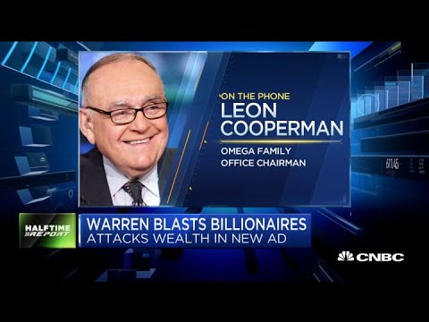 Watch billionaire Leon Cooperman's full response to Elizabeth Warren's CNBC campaign ad