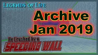 Old Codes ➤ Archive January 2019 ➤ Be Crushed by a Speeding Wall ➤ Roblox