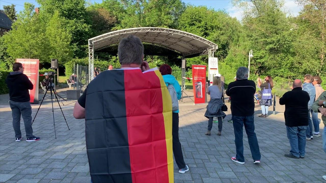 Bürgerprotest Bad Marienberg 08.06.20 Rede Mario Buchner