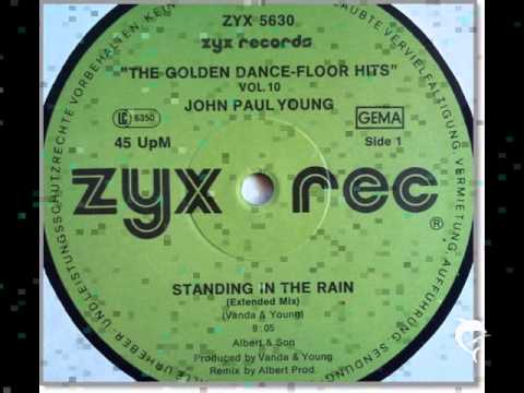 John Paul Young - STANDING IN THE RAIN - EXTENDED 12'' - Original Remix 1977 + LYRICS