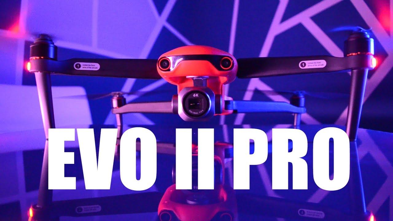 AUTEL EVO 2 PRO - 6K Video Çeken Drone!