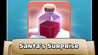 Clash Of Clans | The Old And Famous Spell - The SANTA SPELL