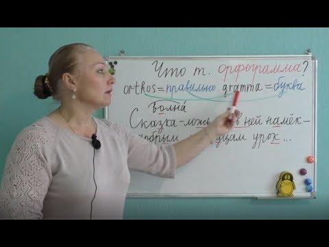 Орфограмма в слове мультфильм