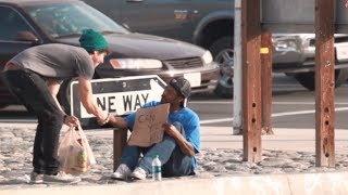 Giving to the Homeless and others