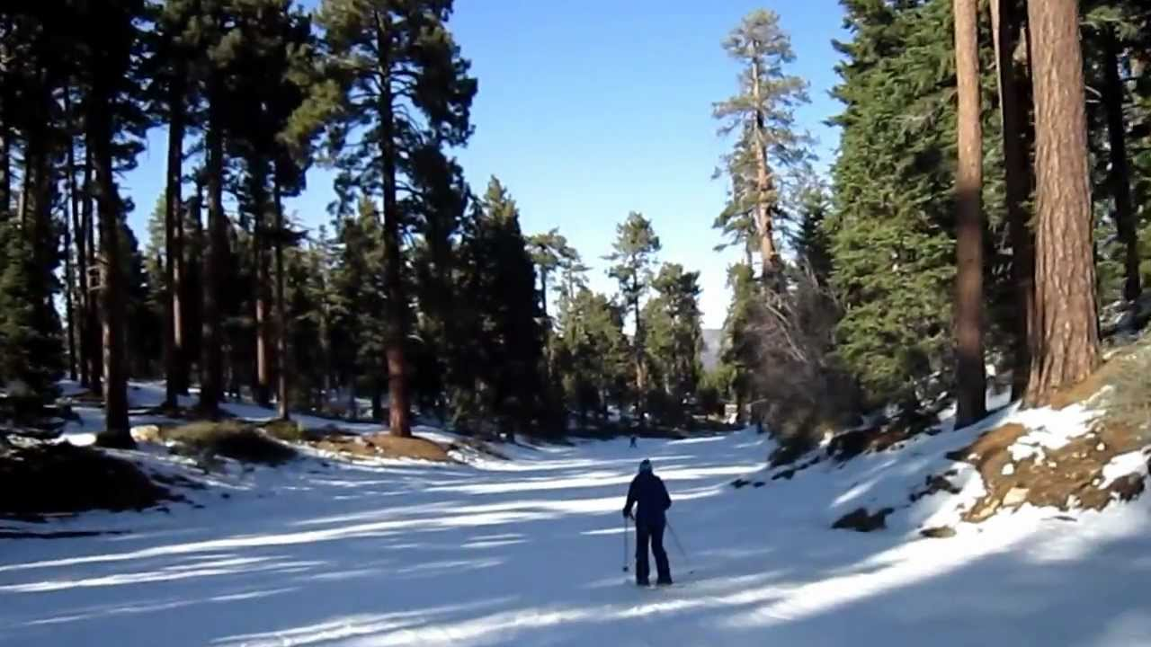 Skiing In Snow Summit Resort Big Bear Lake Ca Youtube