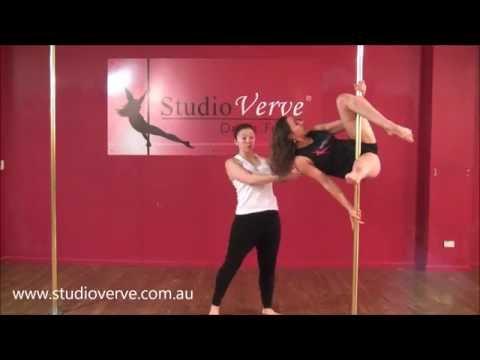 Pole Dance Tutorial - Superman