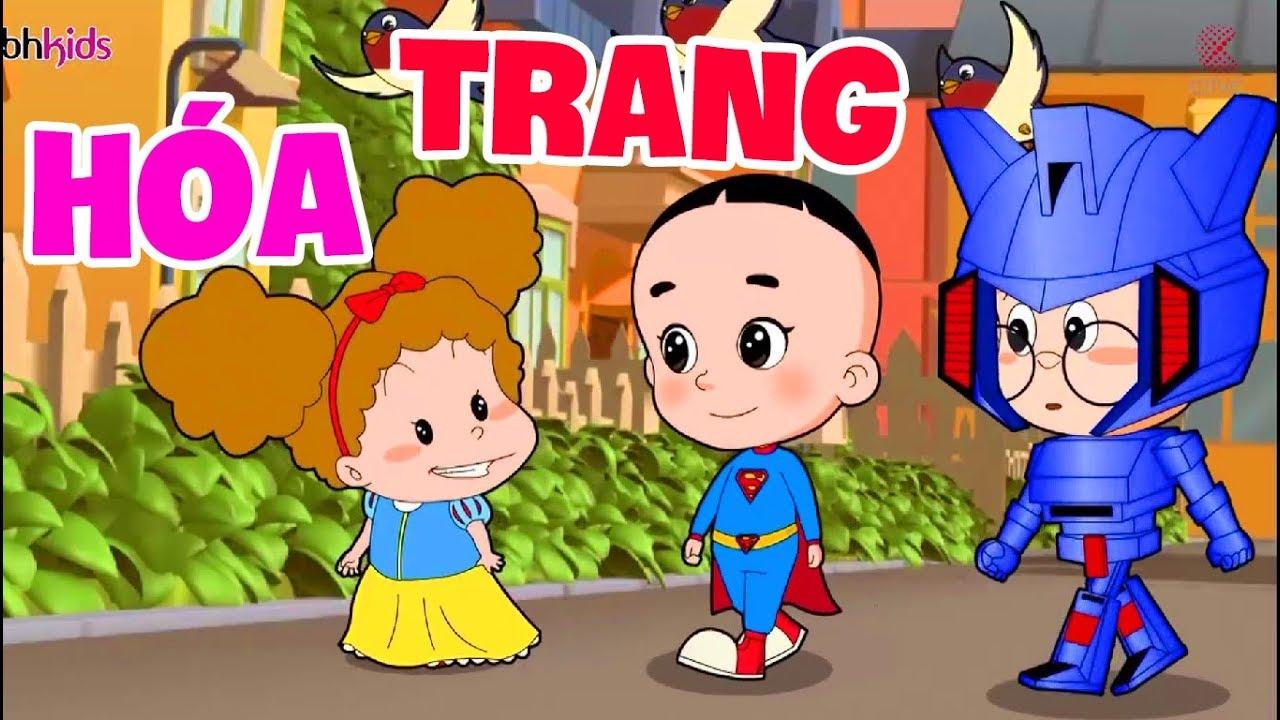 Bố đầu nhỏ con đầu to - Mặc Đồ Đẹp Đi Chơi Nào - phim hoạt hình hay nhất 2019