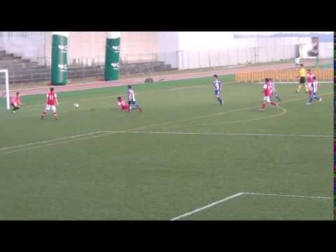 Golo de Ricardo Martins Braga 7 0 Alpendorada