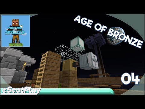 Modern Skyblock 2 w/ cScot – Ep 04: Bronze Combustion - Let's Play/Walkthrough
