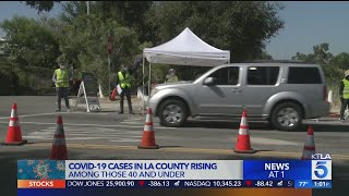 Dodger Stadium Testing Site Reopens As Coronavirus Cases Surge In Los Angeles County
