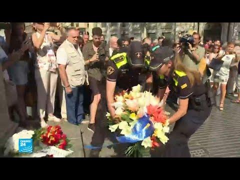 بعد عام على اعتداءي كاتالونيا برشلونة تكرم الضحايا  - نشر قبل 1 ساعة