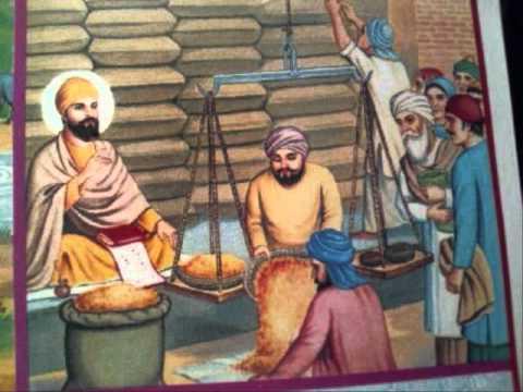 Guru Nanak Hd Wallpaper Janam Sakhi Guru Nanak Dev Ji 009 Sakhi Modikhane Di