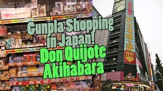 642 - Gunpla Shopping in Japan: Don Quijote, Akihabara