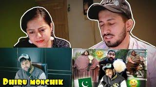 FUNNIEST PAKISTANI BABA - KHAN BABA | DhiruMonchik | Reaction
