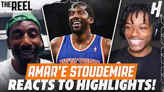 AMAR'E STOUDEMIRE REACTS TO AMARE STOUDEMIRE HIGHLIGHTS! | THE REEL S2 WITH @KOT4Q