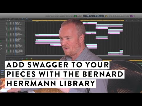 How To Add Swagger To Your Silky Symphonic Pieces With The Bernard Herrmann Library.